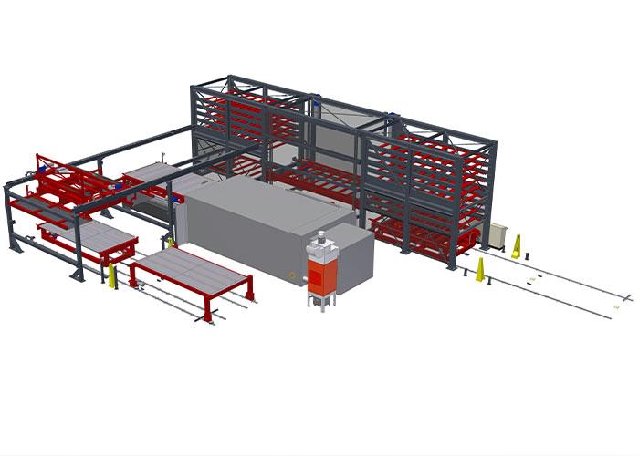 De mogelijkheid om zowel grote, zware plaatuitslagen als kleinere snijdelen automatisch uit te sorteren, is een belangrijk onderdeel van de lasersnij-installatie die Bystronic bij Arendsen Plaatwerk gaat installeren.