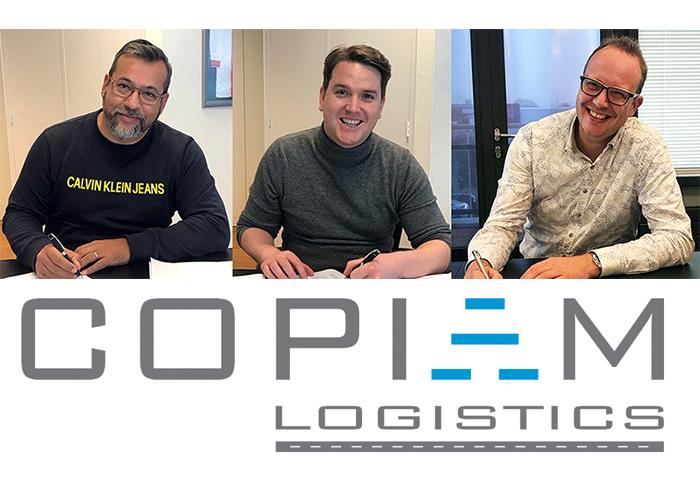 V.l.n.r. Raimond Geenen, CEO Kloeckner Metals ODS Nederland, Simon Hanekroot, CFO Kloeckner Metals Benelux en Henk van Groen, CEO Copiam Group.