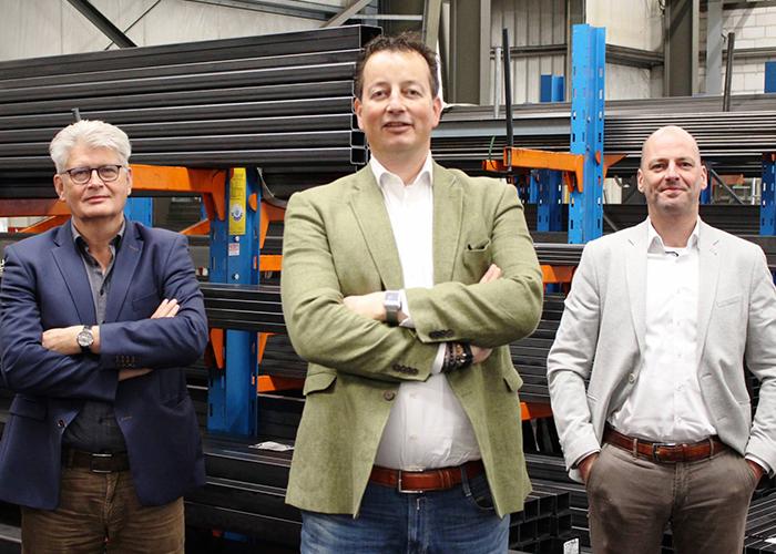 Martin Suijker (midden) bouwt verder bij de Van Raak Groep.