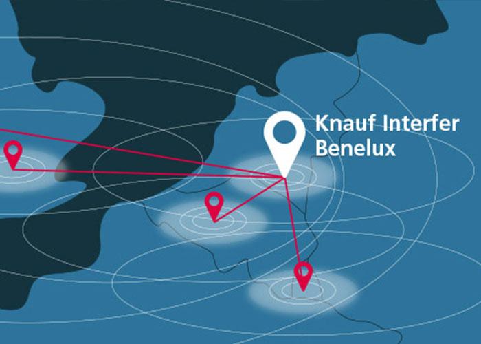 Alle salesactiviteiten van Knauf Interfer in Nederland, België, Luxemburg, Groot-Brittannië en Ierland worden voortaan uitgevoerd vanuit het verkoopkantoor Knauf Interfer Benelux.