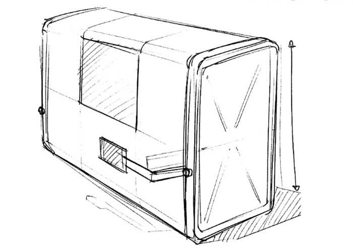 De MetalFAB-600 biedt een bouwkamer van 600 x 600 x 1.000 mm (XxYxZ). Daarmee is het volume vijf keer groter dan de huidige MetalFAB1.