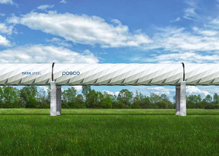 De enorme stalen buizen die nodig zijn voor de hyperloop hebben unieke kenmerken in vergelijking met normale buizen.