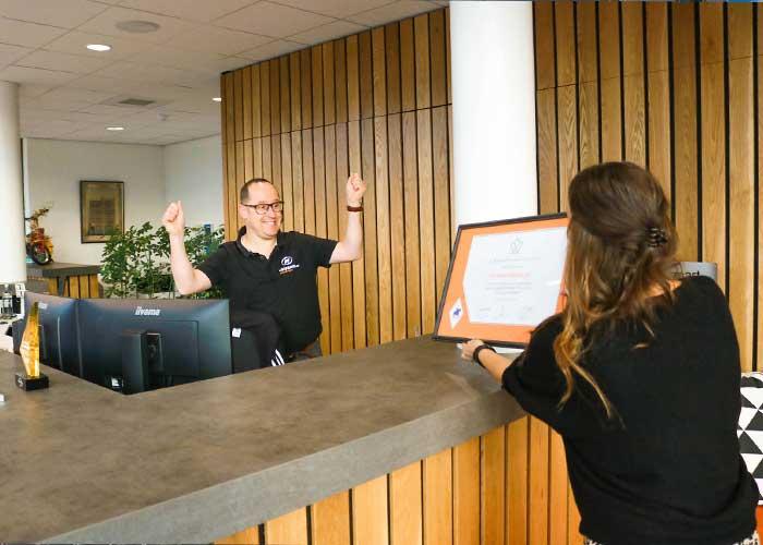 AWL en Van Raam ontvangen het bericht van de Koning Willem I Stichting dat ze zijn doorgedrongen tot de finale voor de prijs.