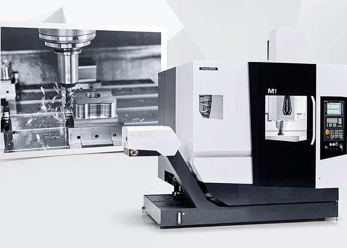 DMG Mori introduceert met de M1 een laagdrempelige en compacte drie-asser