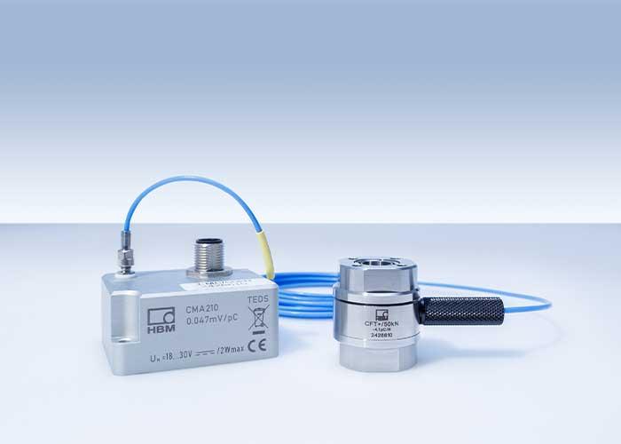 De nieuwe piёzoelektrische meetketens voor de CMC-serie krachtopnemers zijn ideaal voor tal van meettaken in industriёle toepassingen zoals verbindings-, vervormings- of assemblageprocessen.