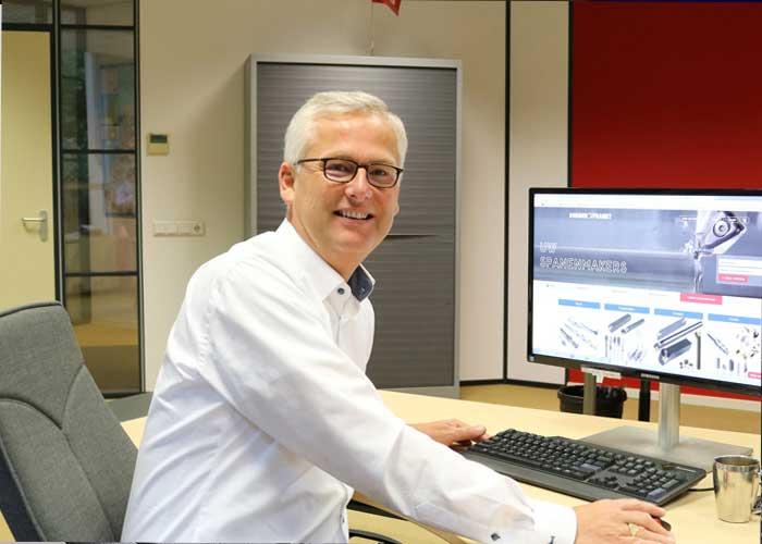 Hans van Steenis gaat aan de slag als New Business Development Director bij Dormer Pramet.