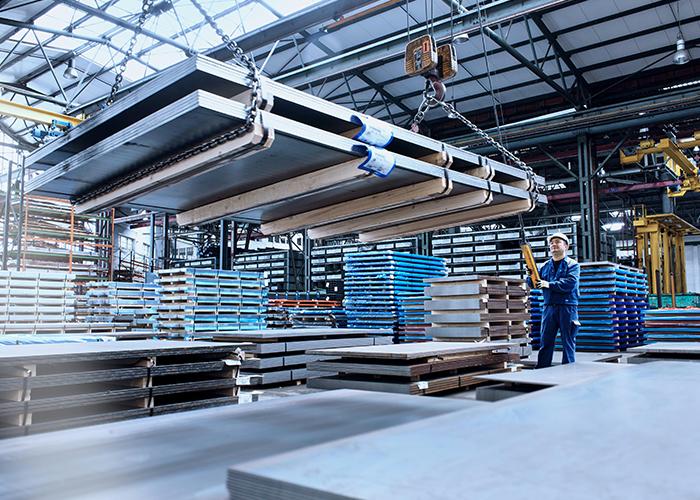 Toenemende zorgen over beschikbaarheid materiaal. Foto: ThyssenKrupp