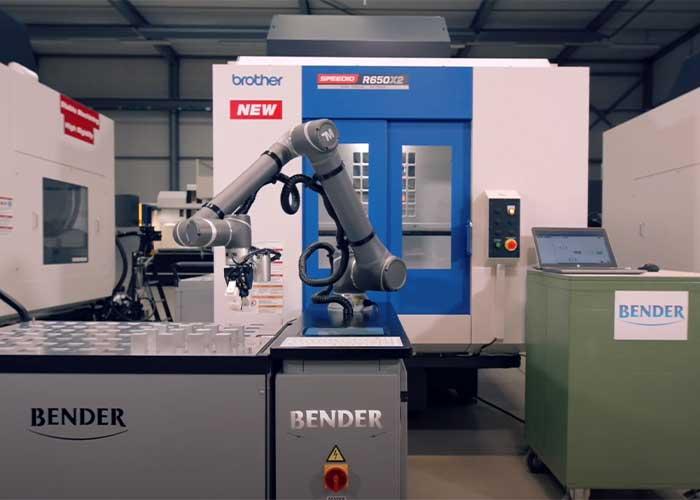 De BT-TM12 is een eigen automatiseringsoplossing van Bendertechniek