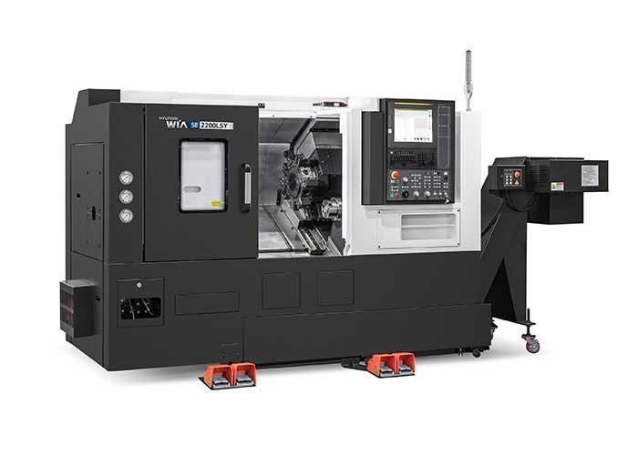 Hyundai Wia brengt als eerste model uit de nieuwe lijn de SE2200LSY op de markt, een CNC draaimachine inclusief Y-as (+/- 55 mm) en subspil.