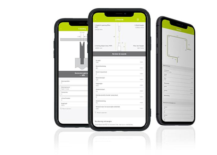 De Send & Bend app en de toolbox, bestaande uit E-Bend, E-Cut en de Q-calculation, zijn nu geïntegreerd in één applicatie, zodat alle informatie op één plek staat.