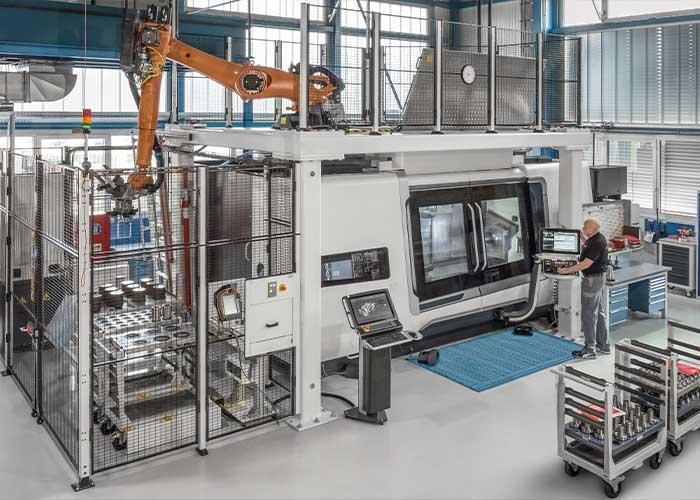 Een productiefaciliteit van Sandvik.