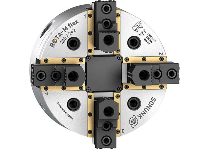 Afgedichte geleidingen zorgen voor een grote procesveiligheid bij de centrisch compenserende ROTA-M flex 2+2.