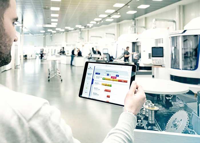 United Grinding heeft een breed pakket aan 'Digital Solutions' ontwikkeld om inzicht te krijgen in het productieproces.