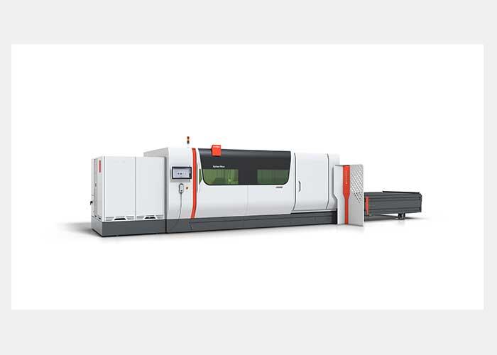 De snijsnelheden op de ByStar Fiber nemen door de 15-kilowatt-laser forst toe.