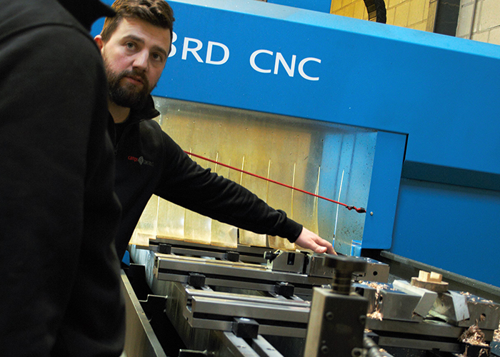 CNC-boorcentrum van CMA maakt Camps Constructie flexibel ....