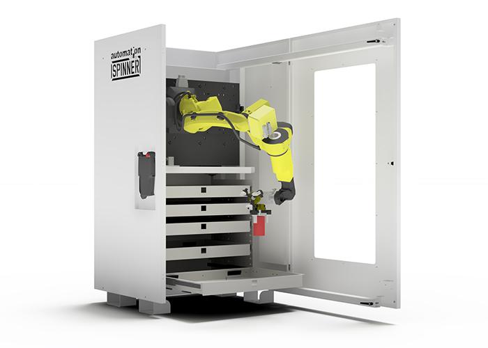 Spinner wordt in Nederland vertegenwoordigd door Limas CNC machinery in Neer.
