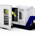 De Robobox van Spinner is geschikt om alle bewerkingsmachines van Spinner te automatiseren