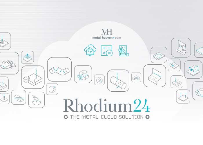 Naast de primaire bewerking van plaat-, buis- en stafmateriaal kunnen er ook 25 à 30 aanvullende bewerkingen zoals draadtappen, soevereinen, boren en oppervlaktebehandelingen in Rhodium24 worden gecalculeerd.