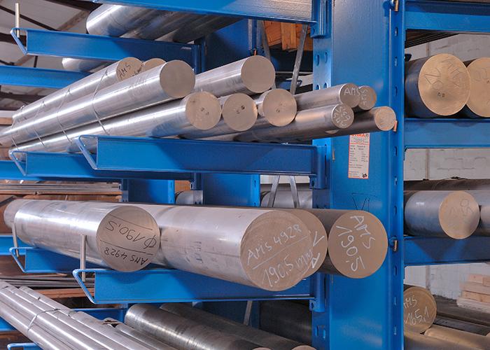 S+D Metals is mede sterk in rondstaf materiaal ten behoeve van de luchtvaartindustrie.