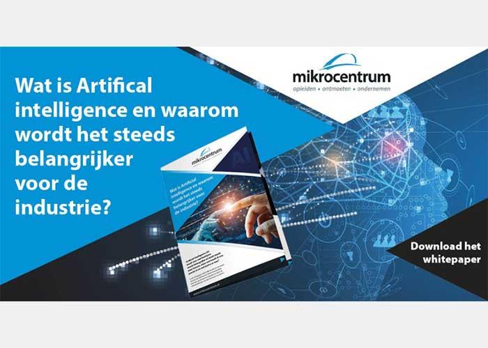 Wat is Artificial Intelligence en waarom wordt het steeds belangrijker voor de industrie?