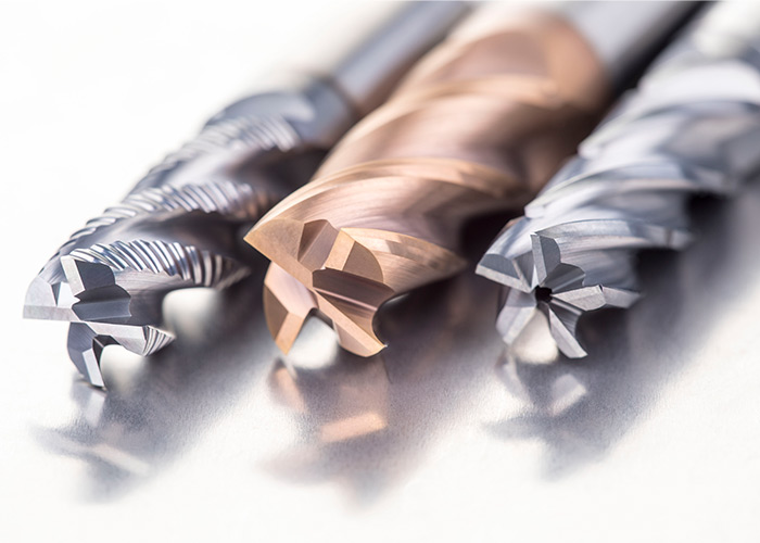 Het frezen assortiment dekt een brede range bewerkingen af in allerlei materialen.