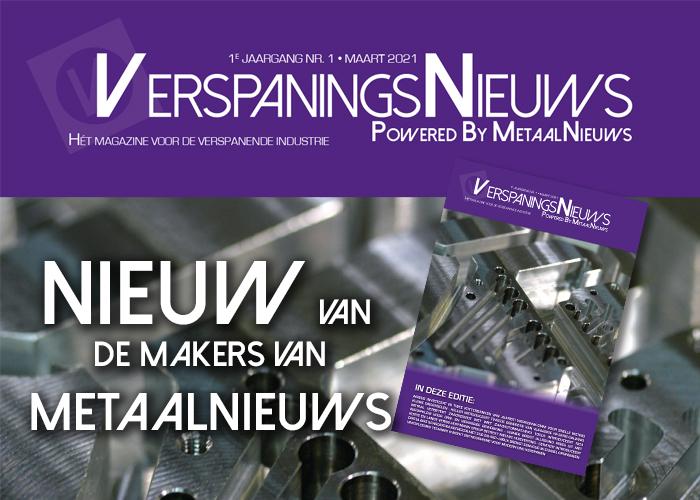 Het volledige artikel verschijnt medio maart in het nieuwe vakblad VerspaningsNieuws.
