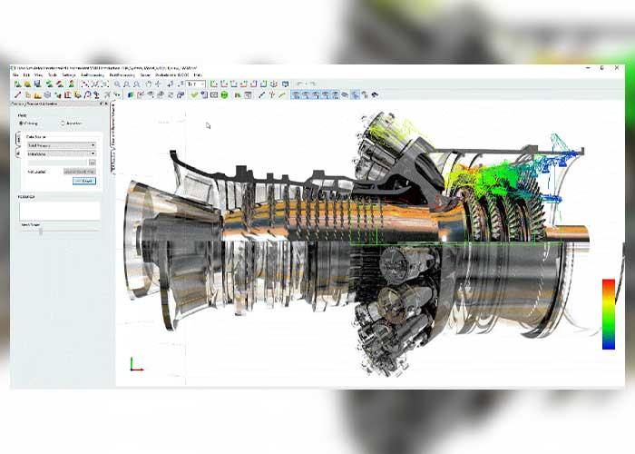 GE Aviation heeft Flow Simulator ontwikkeld voor het snel simuleren van alle stromingen in vliegtuigmotoren