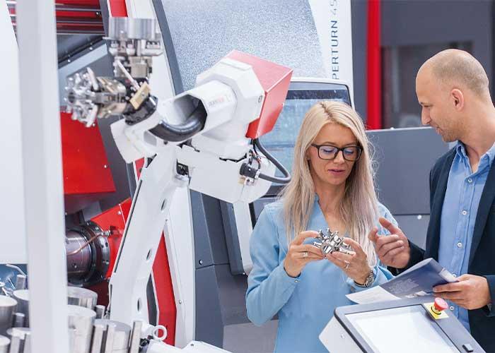 Emco slaagt erin om de digitalisering van werktuigmachines steeds beter, ongecompliceerder en meer toegankelijk voor de gebruiker vorm te geven.