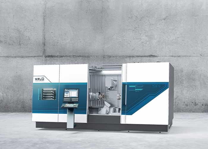 De WFL M20 Millturn is een compact en krachtig bewerkingscentrum voor compleetbewerken (foto's WFL)