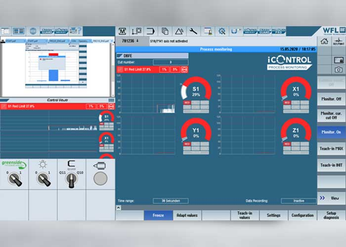 iControl Basic maakt snelle registratie van maximaal zestien processignalen (> 100 Hz) mogelijk
