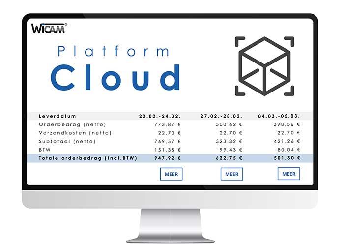 Het API platform van WiCAM draait in de cloud en is in staat om razendsnel CAD-bestanden te analyseren, valideren en calculeren, zodat in no-time offertes kunnen worden uitgebracht en bestellingen worden verwerkt.