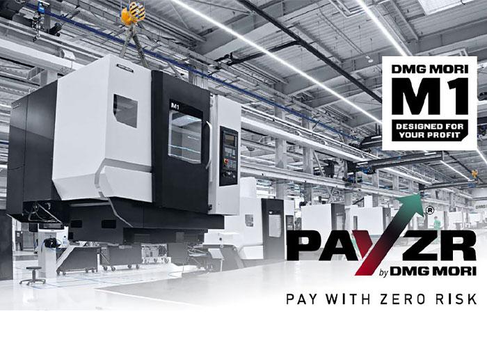 Bij PAYZR kopen klanten van DMG Mori niet langer een machine, maar gaan ze betalen voor het gebruik ervan.