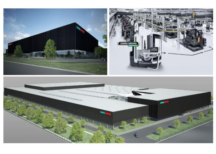 DMG Mori gaat in de nieuwe fabriek jaarlijks meer dan 2200 5-assers van de DMU-serie produceren voor de Chinese markt.