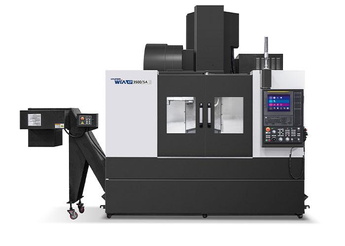 Highspeed spindels, korte gereedschapwisseltijden en highspeed rollengeleidingen in alle lineaire assen, zorgen ervoor dat ook de kleinere toeleverancier met het nieuwe bewerkingscentrum KF3500/5A een hoge productiviteit kan halen.
