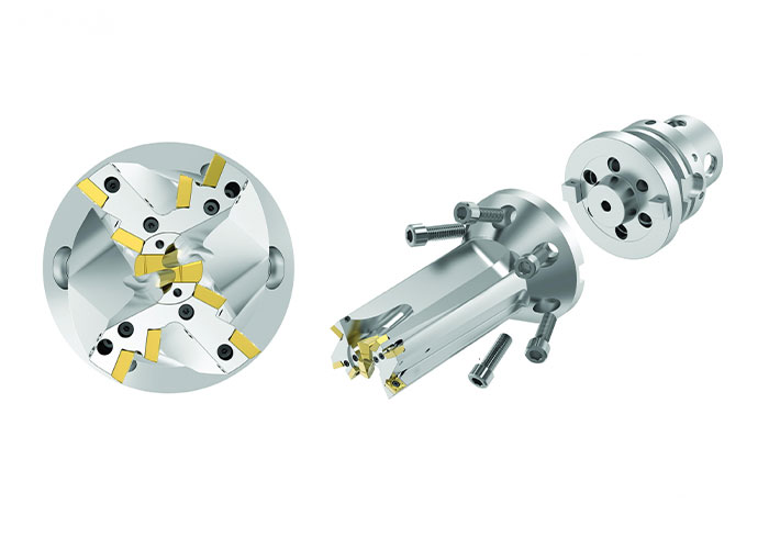 Het ontwerp van de FBX vlakke bodemboor stuurt voornamelijk axiale snijkrachten naar de machinespindel, waardoor de doorbuiging wordt geminimaliseerd en de standtijd van het gereedschap en de bewerkingssnelheden worden verhoogd.
