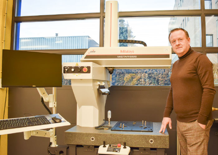 """Henk Slotboom: """"Mitutoyo is meer dan alleen een leverancier van handmeetgereedschappen en CMM's. Ons businessmodel beweegt steeds meer richting een adviserend, ondersteunend en zelfs uitvoerend takenpakket"""