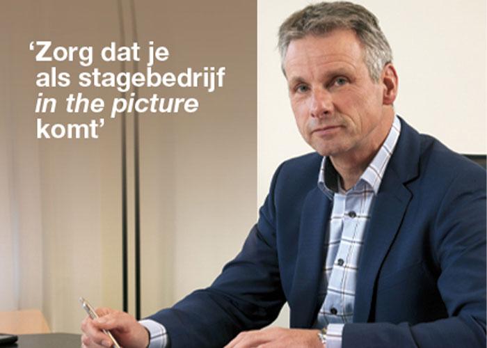 """OOM-directeur Erik Yperlaan: """"Bedrijven in het MKB-Metaal zijn zich ervan bewust dat stages cruciaal zijn om leerlingen enthousiast te maken voor een baan in de sector."""""""