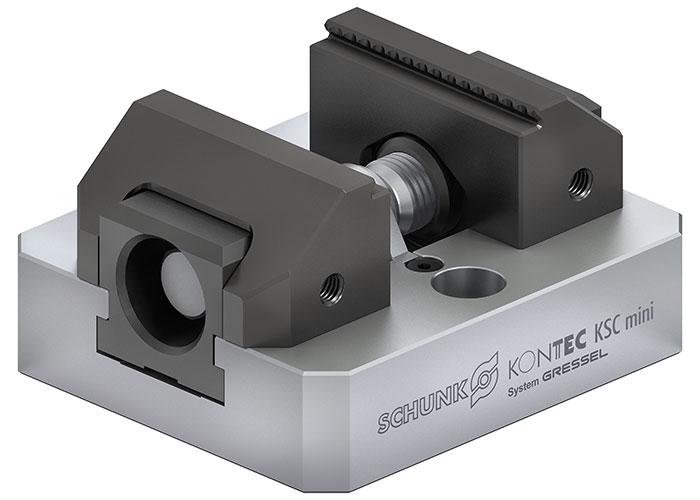 De nieuwe Kontec KSC mini maakt een eenvoudige handling van kleine onderdelen mogelijk.