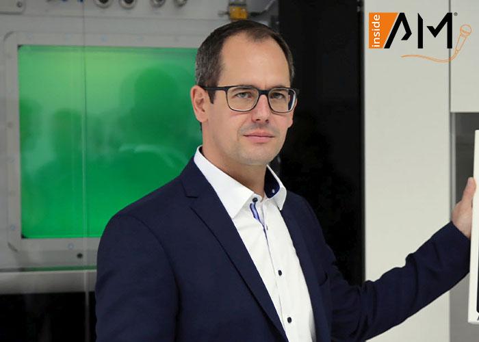 Christoph Hansen, Director Technology & Innovation bij Sauber Engineering, is de eerste spreker van de nieuwe zesdelige 'inside AM' liveserie die wordt georganiseerd door AM Solutions.