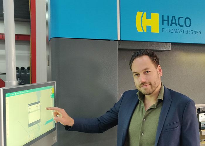 Jasper Hoogstad brengt bij Besten machines veel kennis en een schat aan ervaring op het gebied van kantgereedschappen mee.