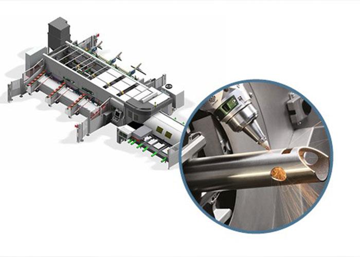 De buislasermachine LT8.20 die begin juni bij Constructiebedrijf De Vries operationeel zal zijn, beschikt over een invoerlengte tot maximaal 12,5 meter en productuitvoer van 8,5 meter.