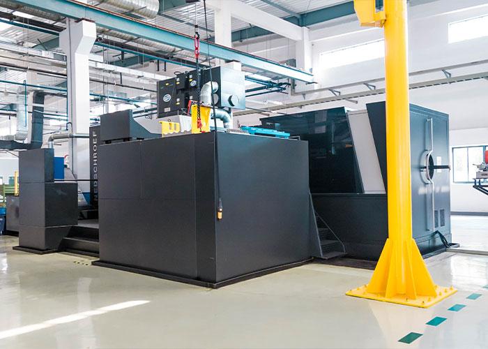 De oplossing van Info is geïmplementeerd en operationeel voor twee faciliteiten van Nedschroef. Rollout voor resterende sites is voorzien in de periode 2021-2024.