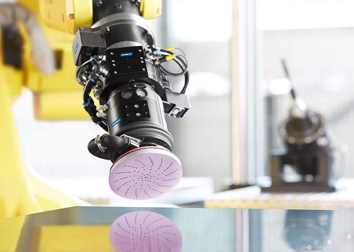De samenwerking tussen Schunk en 3M opent nieuwe mogelijkheden bij het ontwerpen van geautomatiseerde slijpprocessen.