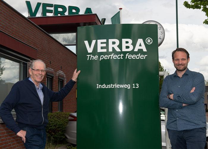 Oprichter Bert Verbakel is nog altijd eigenaar van Verba. De dagelijkse leiding is al een aantal jaren in handen van zijn neef Jeroen Gloudemans.