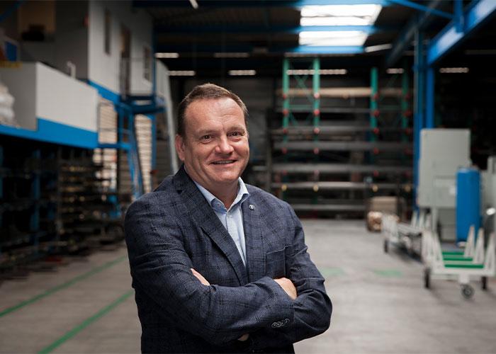 """Janwillem Verschuuren, de nieuwe voorzitter van NEVAT GPI. """"Door kennis te delen en informatie uit te wisselen help je elkaar en maak je de maakindustrie in Nederland als geheel sterker."""""""