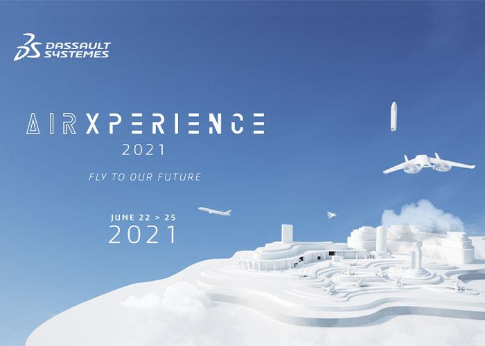 AirXperience 2021, georganiseerd door Dassault Systèmes, presenteert hoe lucht- en ruimtevaartinnovatie kan worden versneld. (foto: Dassault Systèmes)