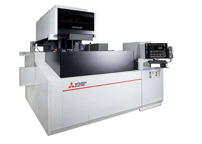 De MV4800R-Connect is een vastbedmachine, met een van Meehanite gietijzer gegoten machine frame. Het werkstuk staat stil; de draad beweegt. Ook dit zorgt voor nauwkeurigheid.