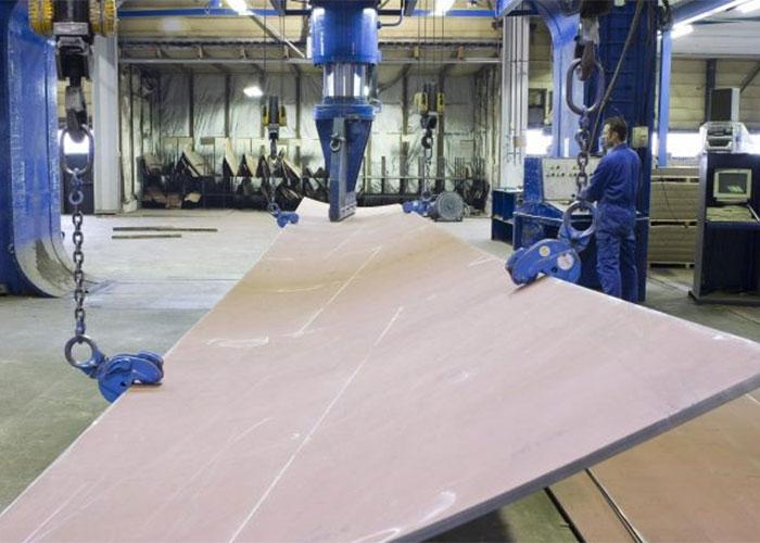 Ferus Smit heeft de productie van staalpakketten in eigen huis gehaald om minder afhankelijk te zijn van toeleveranciers. (foto: Ferus Smit)