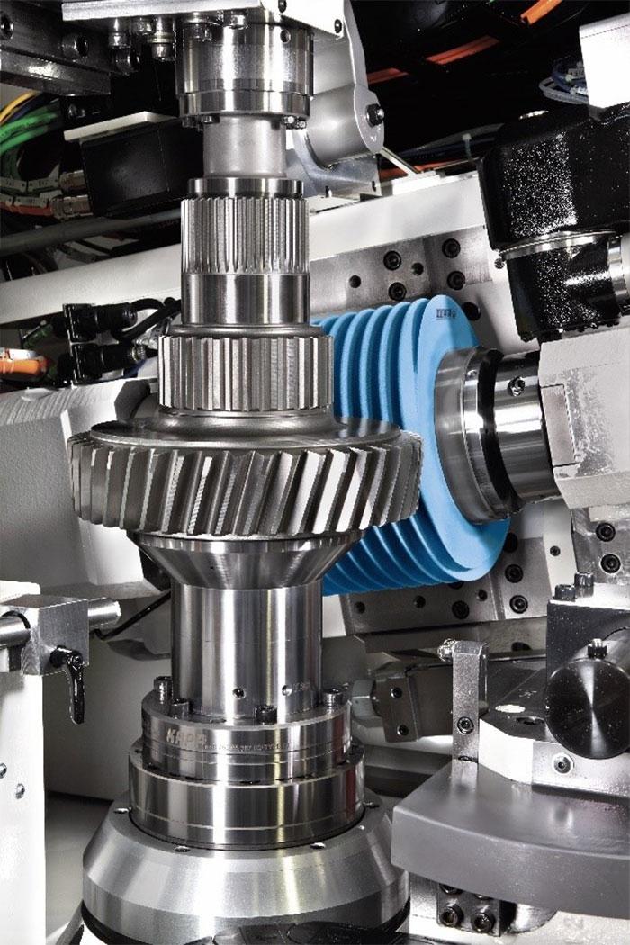 Krebs & Riedel is gespecialiseerd in de productie van slijpwielen voor tandwieltoepassingen foto: Kapp-Niles