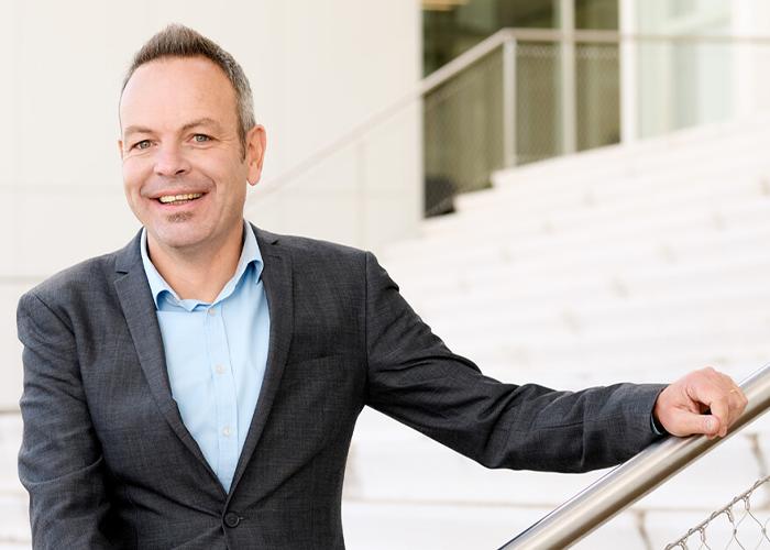 Bert-Jan Woertman, de nieuw directeur van Mikrocentrum.